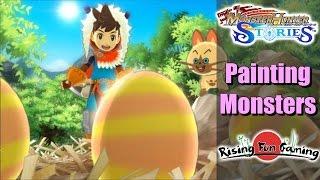 How paintballs work in monster hunter stories