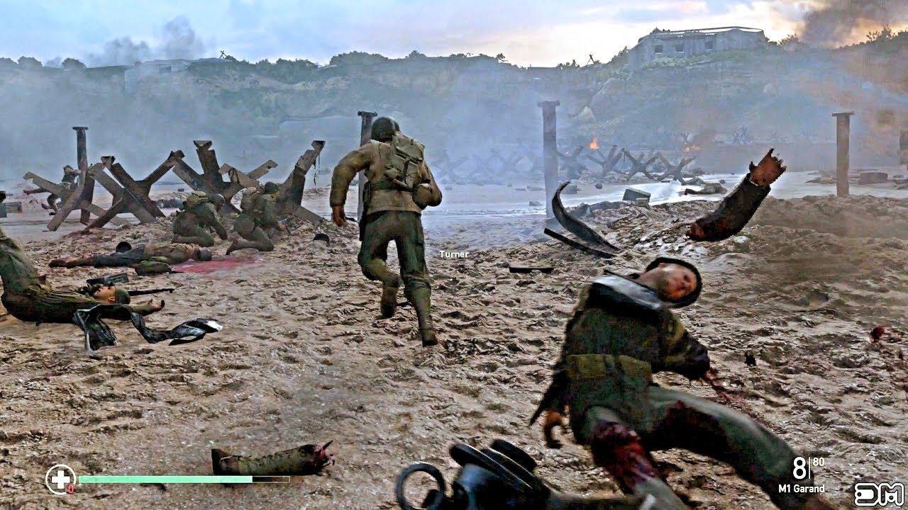 Call Of Duty Ww2 Storm Omaha Beach Normandy D Day