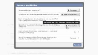 Facebook: Paramétrer la sécurité et la confidentialité de son profil personnel