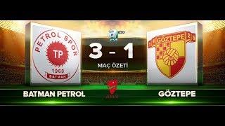Batman Petrolspor 3-1 Göztepe | Maç Özeti HD | A Spor | 20.09.2017