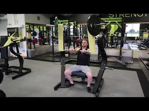 Machine Chest Press - Technogym Pure Strength Machine