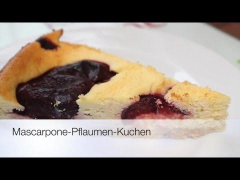 Mascarpone pflaumen kuchen