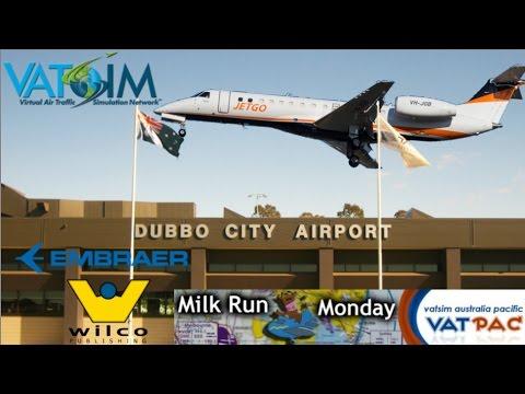 Wilco ERJ135 Jetgo From Essendon To Dubbo Vatpac Milkrun On Vatsim