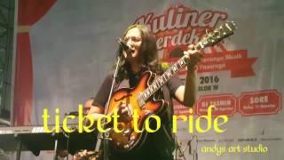 Video Ticket to ride by Abadi Soesman Band download MP3, 3GP, MP4, WEBM, AVI, FLV Juli 2018