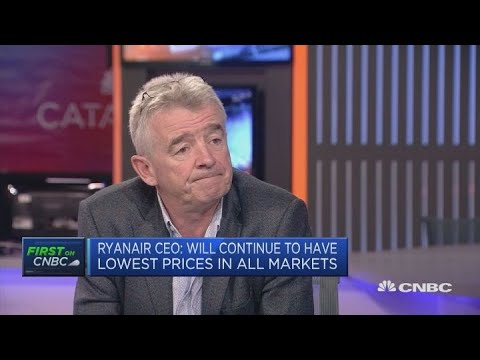 Ryanair CEO: Some union demands are 'simply unreasonable' | Squawk Box Europe