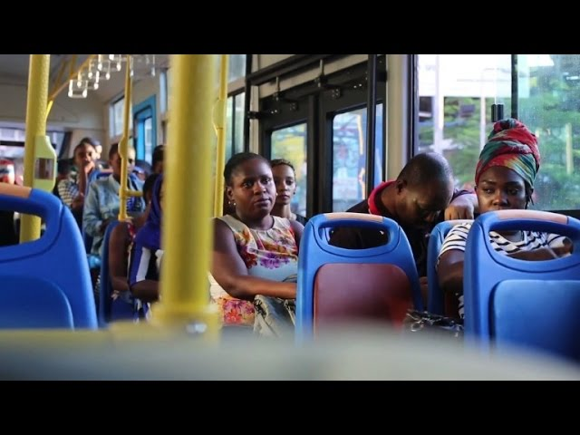 Shiny new buses challenge chaotic old ways in Tanzania