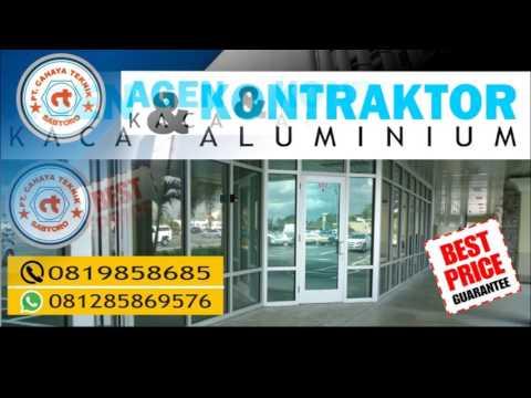agen dan kontraktor kaca dan aluminium