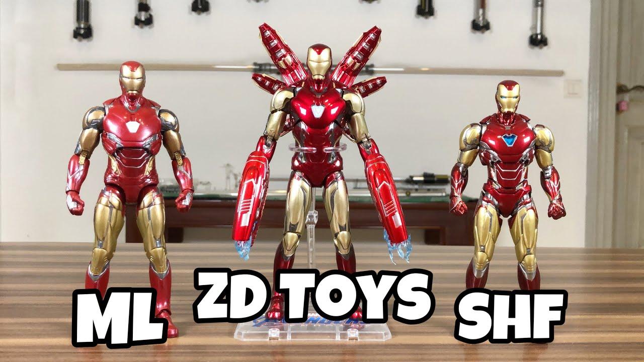 """TOYS Armored MK85 Iron Man Avengers Endgame Marvel 7/"""" Action Figure mark 85"""