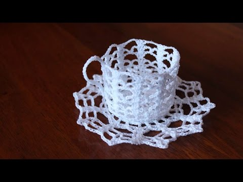 How To Create Beautiful Starching Crochet Work - DIY Crafts Tutorial - Guidecentral