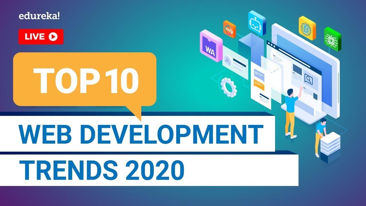 Top 10 Web Development Trends in 2020   Web Development Skills