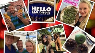 San Diego Adventures Hillcrest Farmers market, Barry Koral brakedance in the park vlog