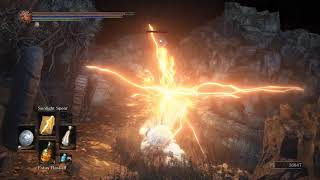 Прохождение Dark Souls 3: Cinders (мод) [07] - Безымянный король и Гундир