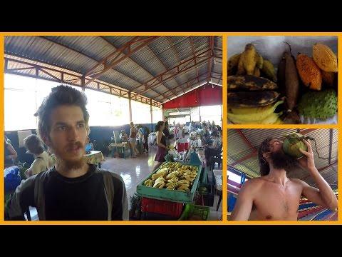 ORGANIC COSTA RICAN FARMERS' MARKET IN TINAMASTES