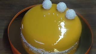 Муссовый торт для начинающих.Рецепт.Мой вариант.