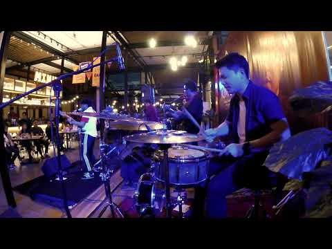 Kunto Aji - Konon Katanya LIVE (drum Cam) By Martin Djong