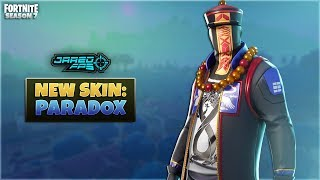 "New ""Paradox"" Skin - Fortnite Battle Royale - JaredFPS"