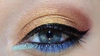 Subtle Rainbow Eyes!, urbandecay, nyxcosmetics, hourglass, toofaced, marcjacobs, perversion