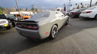 mqdefault Detail 2017 Dodge Challenger R T 1 Owner With A Hemi Used 16858652