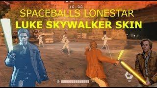 Spaceballs Lonestar Skin for Luke in Star Wars Battlefront 2 (pc mod) 4K