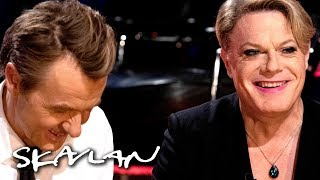 Eddie Izzard answers and asks dilemmas | SVT/TV 2/Skavlan