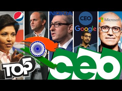 Top 5 Indian CEO.