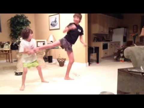 Underwear fighting - YouTube