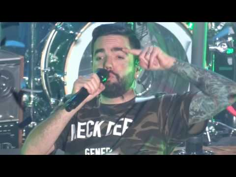 A Day To Remember - Mr Highway's Thinking About the End (LIVE HD - Cologne - 02/01/2017)