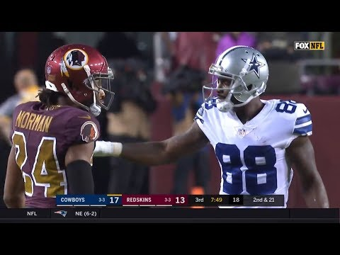 Dez Bryant vs Josh Norman (2017 wk 8) | WR vs CB Highlights