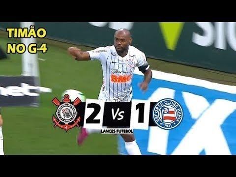 Corinthians 2 x 1 Bahia (HD) Melhores Momentos - BRASILEIRÃO 21/09/2019