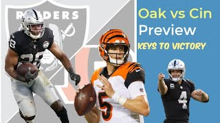 Oakland Raiders vs Cincinnati Bengals Week 11 Game Preview