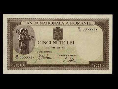 Romanian banknotes from 1930 to 1947