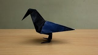 How to Make a Paper Raven - Easy Tutorials