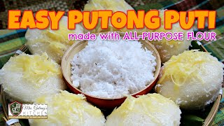 EASY PUTONG PUTI made with ALL-PURPOSE FLOUR (Mrs.Galang's Kitchen S11 Ep8)
