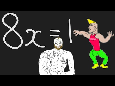How REAL Men Solve Equations