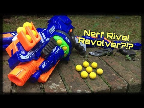 Honest Review: Mysterious Nerf Rival Revolver!