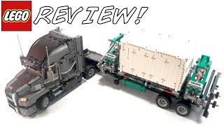 LEGO Technic 42078 Mack Anthem Truck Review!