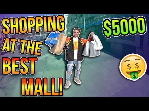 SHOPPING AT THE BEST MALL IN ATLANTA!!