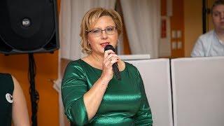 Studniówka ZSP w Kadzidle - wystąpienie dyrektor