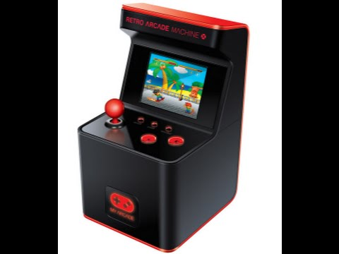 DreamGear 300 Classic Video Games Retro Arcade Mini Cabinet at E3 ...