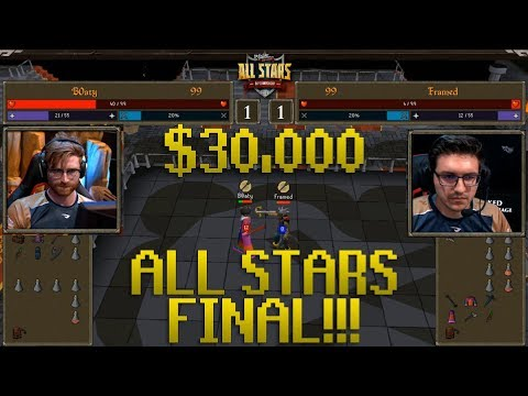 Runescape Highlights - $30,000 OSRS All Stars Winner!! Server Crashes &  Double Deaths! Jagex OSRS