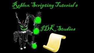 (Anfänger) Roblox Scripting Tutorial-1 Eigenschaften