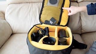 Qué mochilas uso para llevar el equipo fotográfico