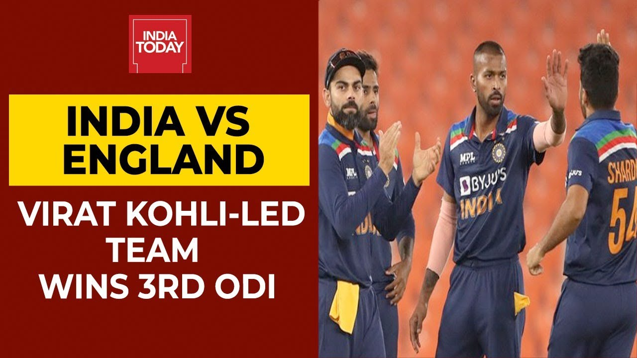 India vs England, 3rd ODI: India seal series with exciting win after ...