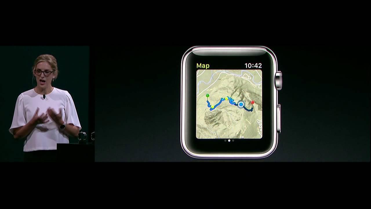 Apple View Ranger hiking app