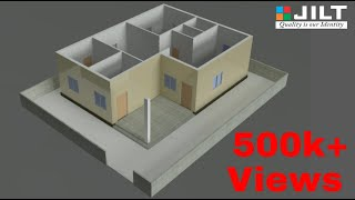 Create 3d House Using Autocad In Easy Steps   1