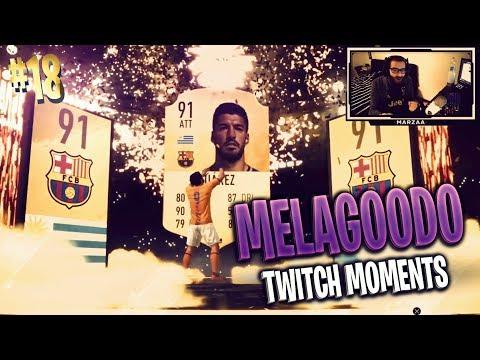 RONALDO IN A PACK!? | IL MASSEO BRILLO INVADE LA LIVE | Melagoodo Twitch Moments [ITA] #18
