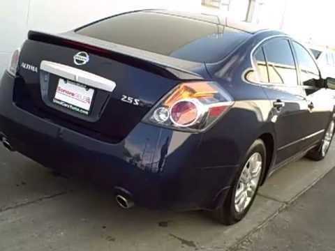 2012 Nissan Altima Navy Blue Metallic N8566a Youtube