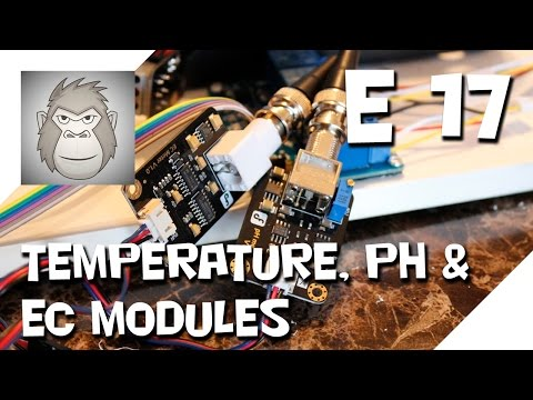 TEMPERATURE, PH & EC MODULES [Operation Food Computer] [17]