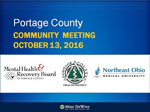 Portage County Opiate Conference: Ohio Attorney General's Office Presentation