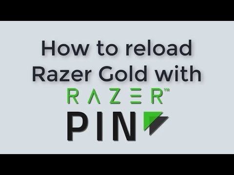 How to Reload Razer Gold with Razer Pin